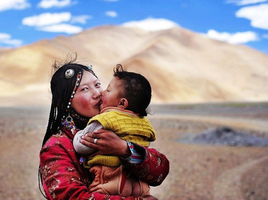 winter in E. Tibet