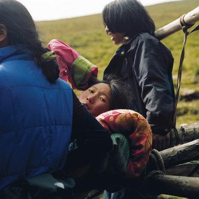 Evacuation of Pregnant Nomad