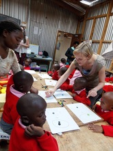 Students in Nursery School