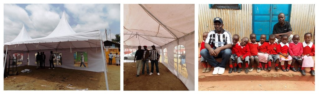 Tents help education