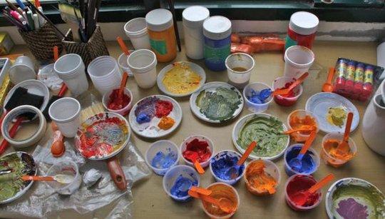 Personal Development Training Painting Supplies