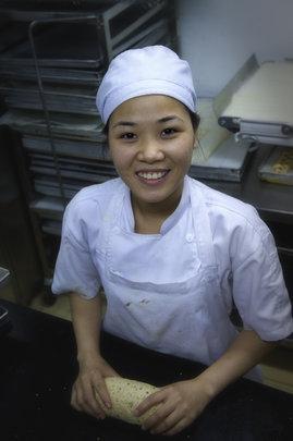 Baking at Joma Bakery Cafe