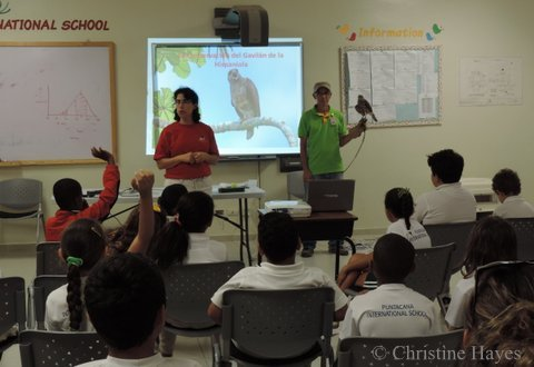 Environmental Education in a School close to PC