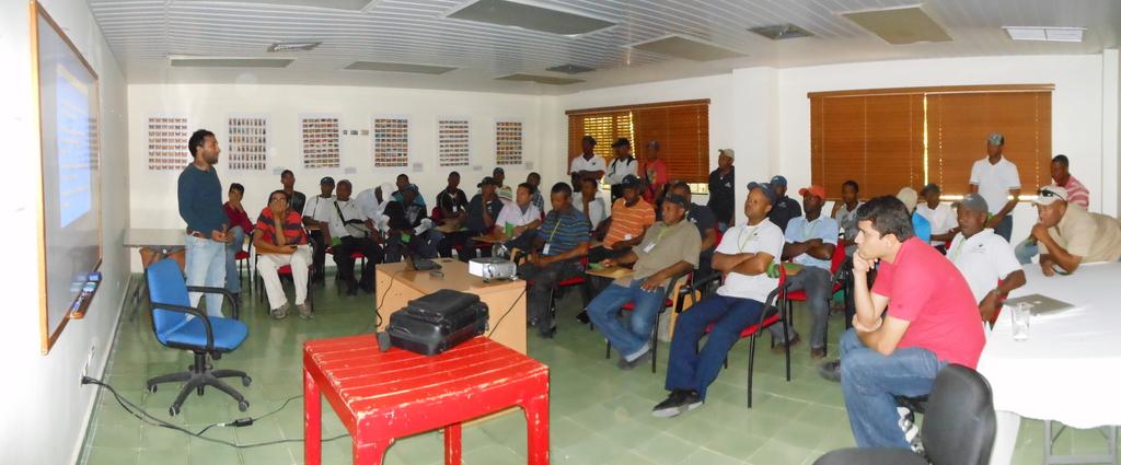 Educational talk to gardeners & maintenance worker