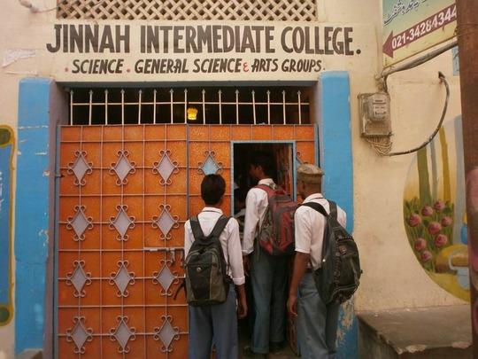 Azeem going to school