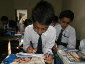 Usman at school