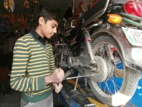 Danial at work