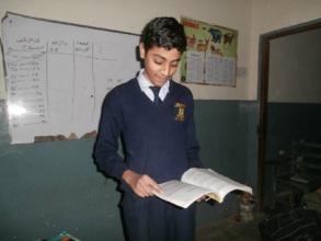 Danial in school