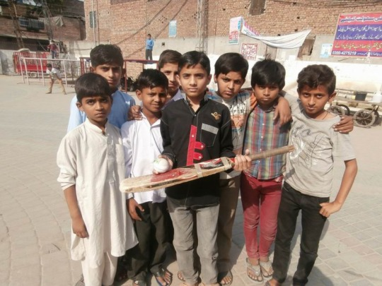 Cricket with friends