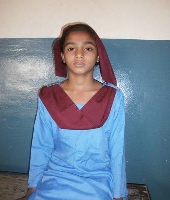 Kainat at school
