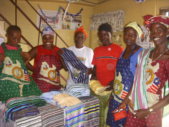 Support for the West Point Women in Liberia