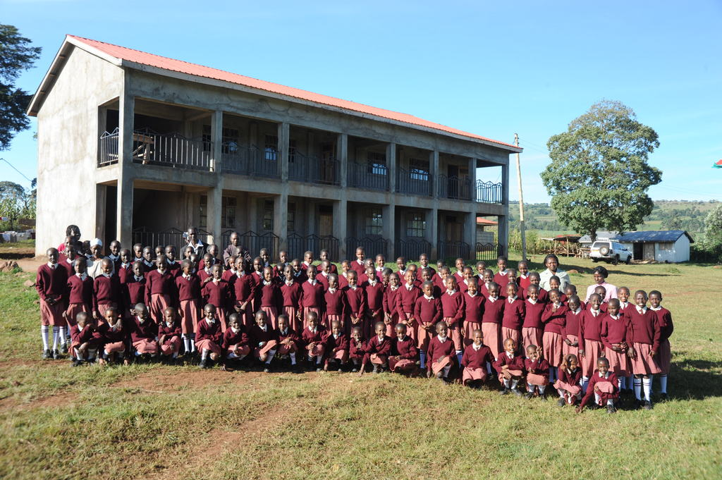 Our school now serves over 90 girls in grades 4-6