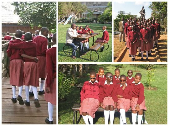 8th Graders Enjoying Nairobi