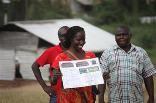 Kakenya shares plans of the new academic building
