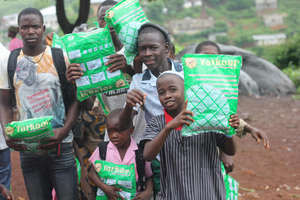 More mosquito net beneficiaries