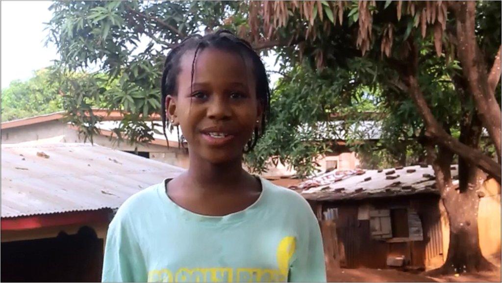 Juanita - bed net beneficiary