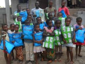 Young children bed net beneficiaries