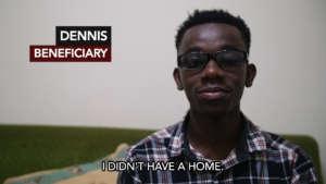 Dennis - Age 21, St. Vincent's Rescue Center