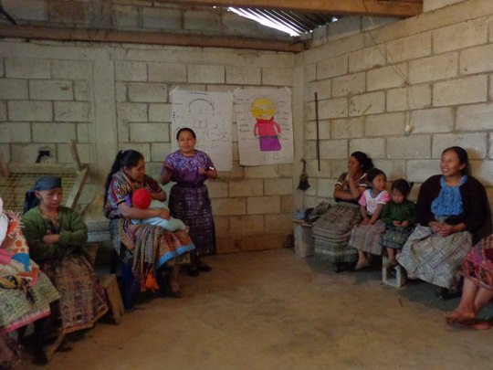 Support Kaqchikel midwives in Guatemala