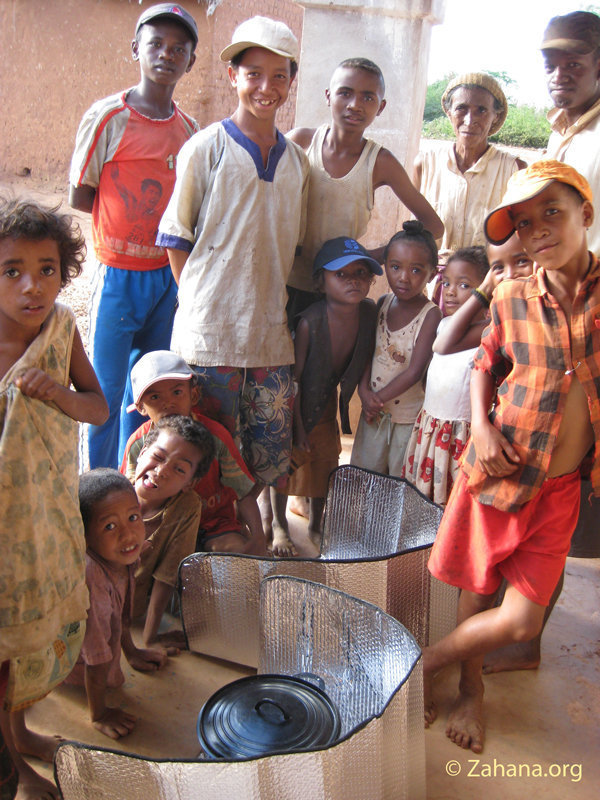 August 2011: Solar Cookers for the School In Fiada