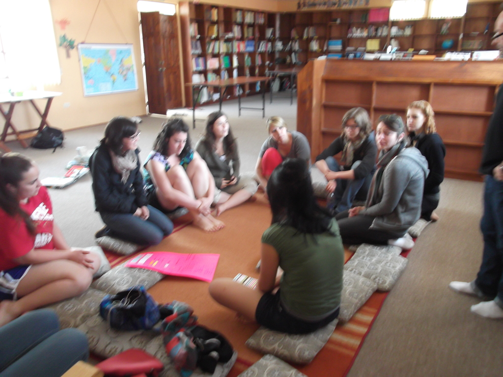 Meeting in the Library!