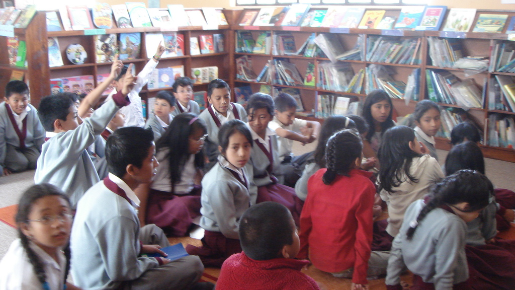 Discussion in the library