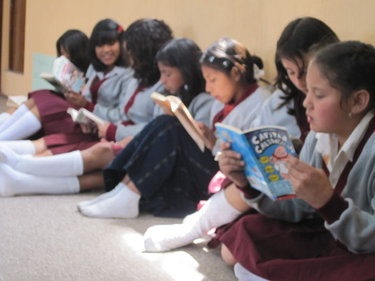 Asturias Academy Library: Reading for Change
