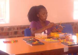 One of our resident teachers in training