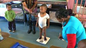 Health screening at one of the pre-schools