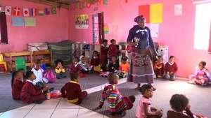 One of the pre-schools supported by Ikamva Labantu