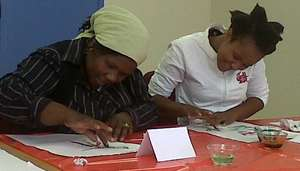 Teachers taking part in experiential learning
