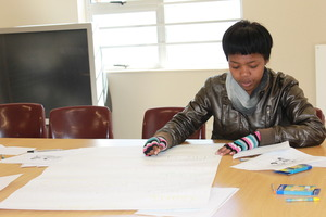 Young Women Learn ECD in their Native Tongue