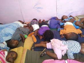 Injongo Children sleeping