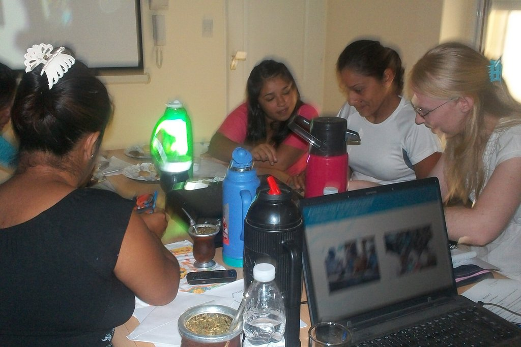 Community referrals receiving training