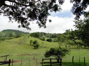 View of the Villalobos pastures
