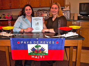 LVC graduate students - science projects for Haiti