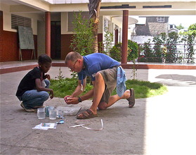 Summer science camp - Alka-Seltzer rockets