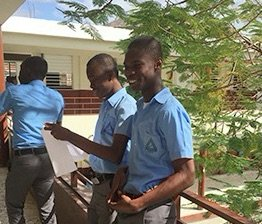 Our peers in Haiti who benefit from our project