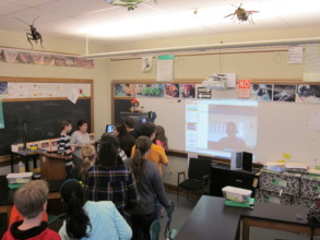 Our recent SKYPE session with Haiti