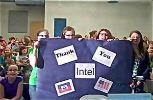 Heartfelt thanks from students in USA & Haiti