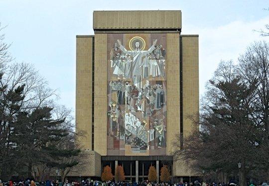 Notre Dame University has a heart for Haiti : )