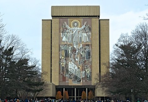 Notre Dame University has a heart for Haiti : )