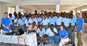 Students, Staff, & IESC at James Stine College