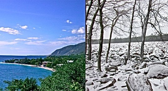 Haiti winter vs Pennsylvania winter 2014