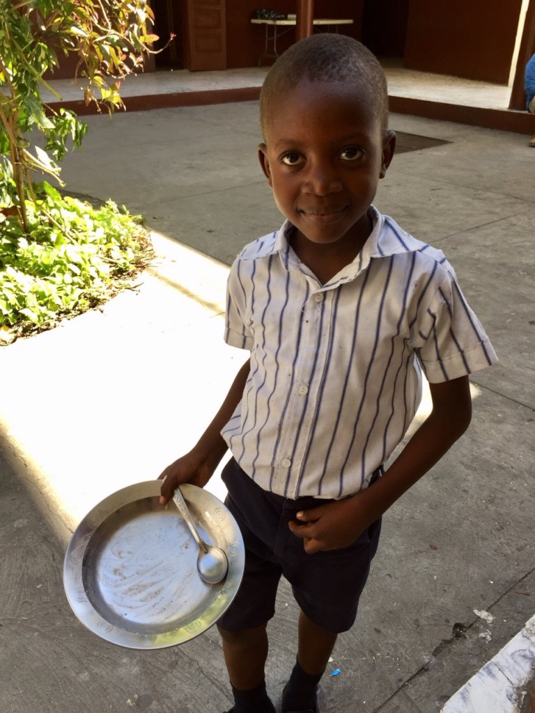 You help provide for Haiti