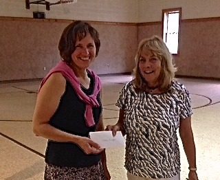 Receiving a grant for the Classmate PC from PASR