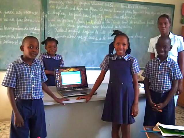 Provide Technology for Haitian Students