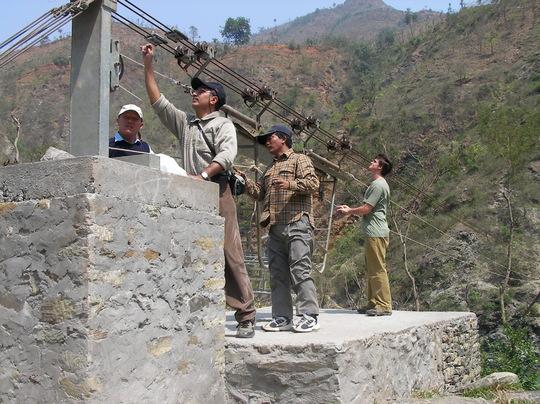 Maintaining Mulawabesi bridge