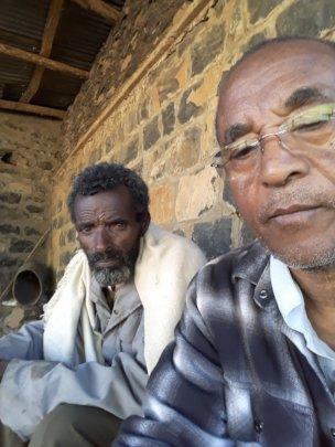 With Haile Mariam