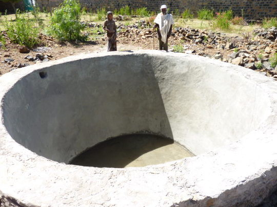 Surface water harvesting system almost completed
